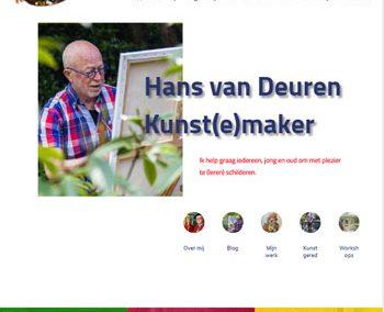 Hans van Deuren – Kunst(e)maker – Schilderworkshops
